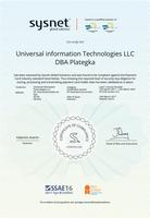 Сертификат PCI DSS v.3.2